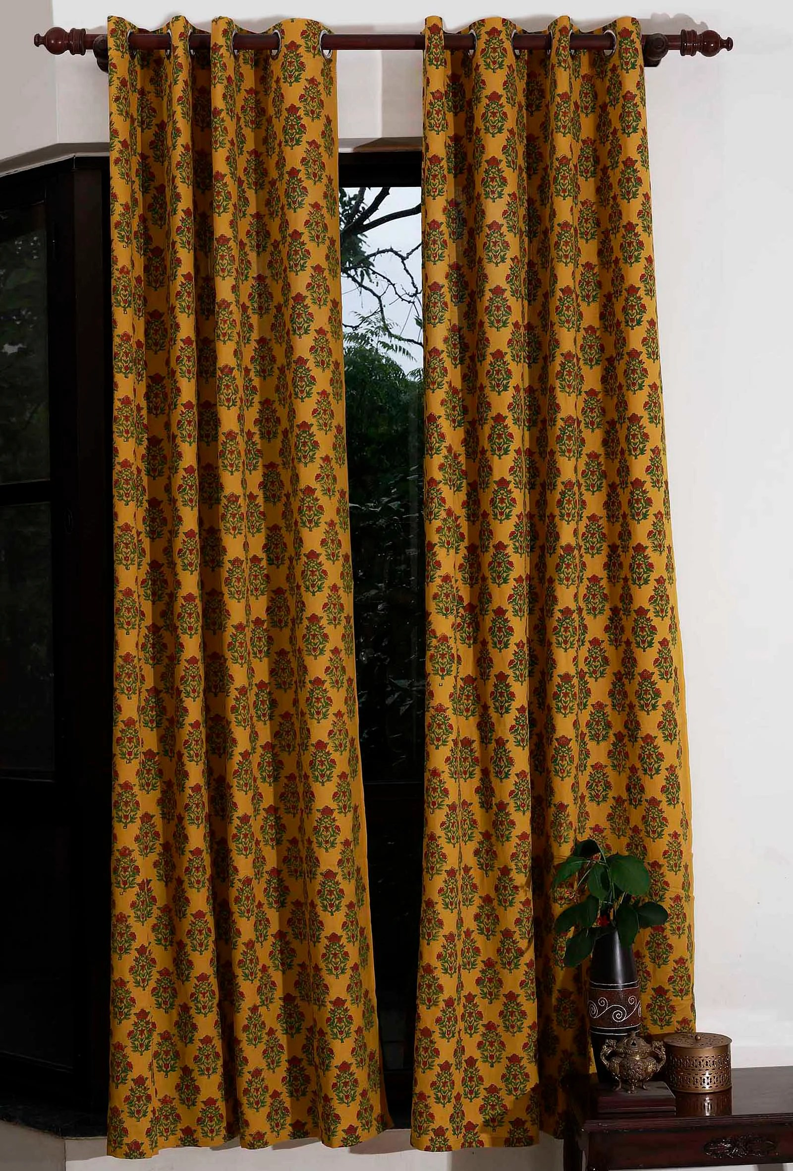 cotton curtain buy handcrafted