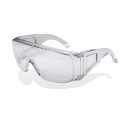 Очки прозрачные с поликарбонатовыми линзами