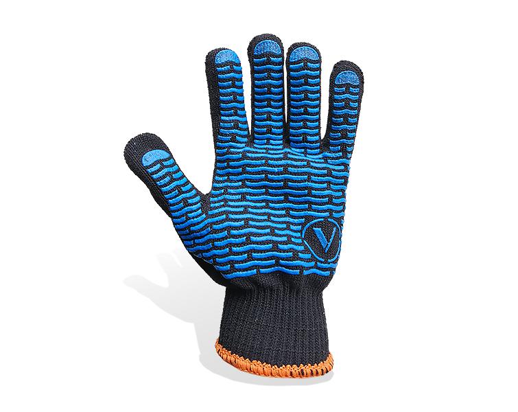 перчатки трикотажные волна