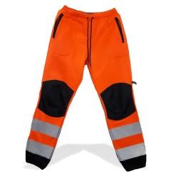 Брюки сигнальные рабочие оранжевые