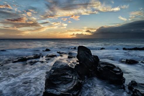 Sunrise at Namalu Bay in Maui