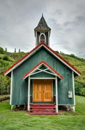The Church at Kahakuloa
