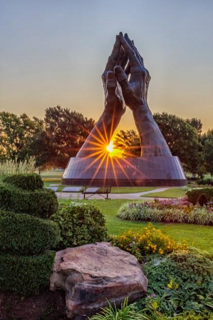 Oral Roberts University - Praying Hands