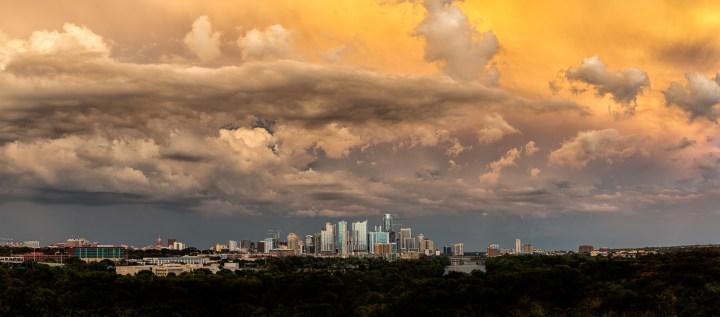 Storm Over Austin