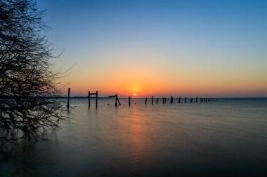 Sunset on Old Pier