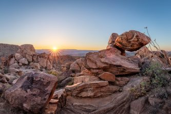 Balanced Rock Panorama