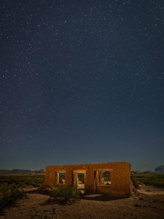 Night Sky Over Dorgan House
