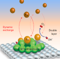 Dynamic stability of active sites in hydr(oxy)oxides for the oxygen evolution reaction
