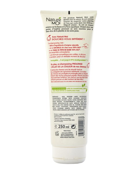 COLOUR  AND SHINE SHAMPOO 250 ml.