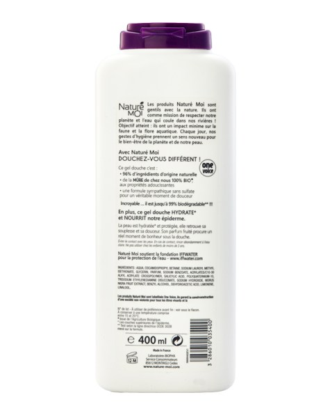 EXHILARATING SHOWER GEL (Blackberry) 400 ml.