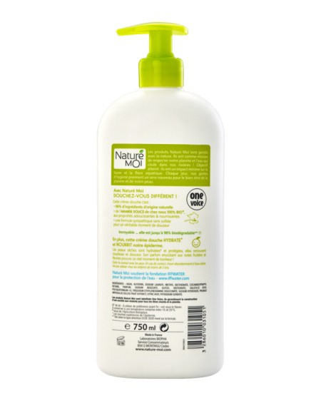 MOISTURIZING SHOWER CREAM (ALMOND) 750 ml.