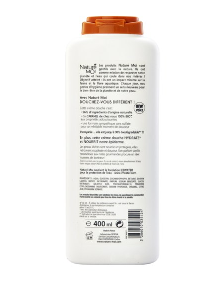 NOURISHING SHOWER CREAM (CARAMEL) 400 ml.