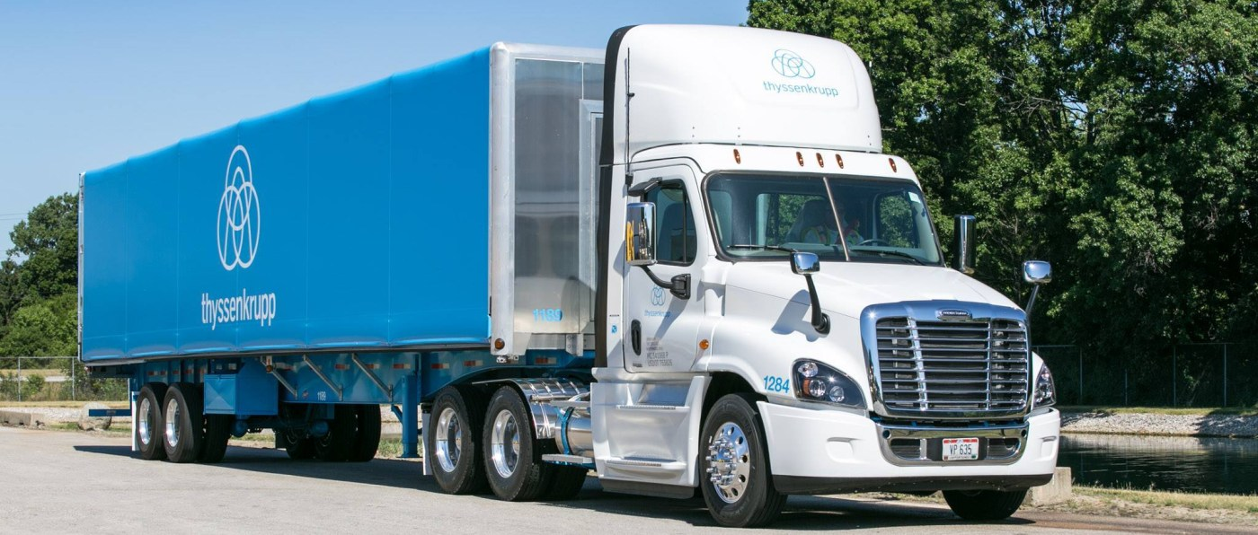 thyssenkrupp deliveries