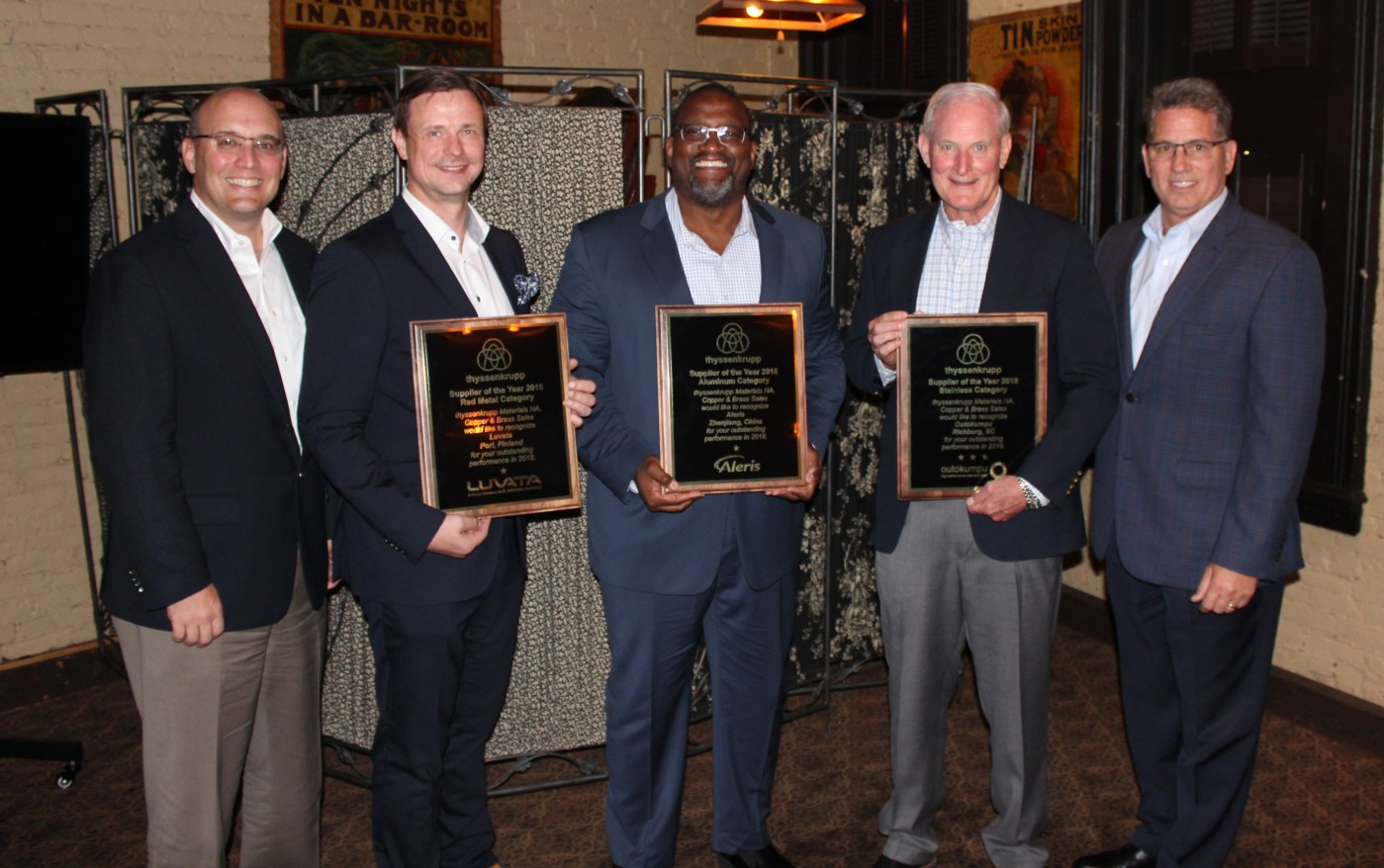 thyssekrupp supplier of the year 2018