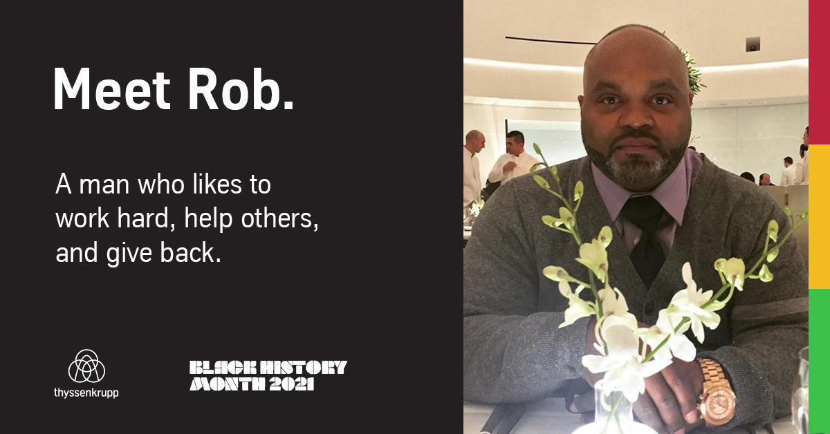 Meet Rob G for Black History Month