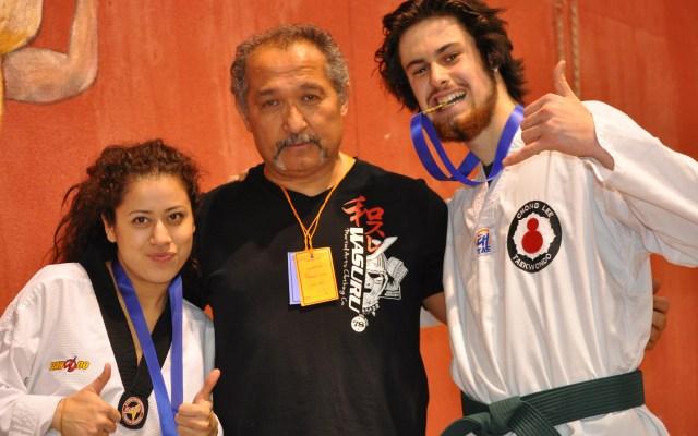Fiers médaillés