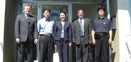 Taekwon-Do klub Radovljica poznajo tudi v Koreji