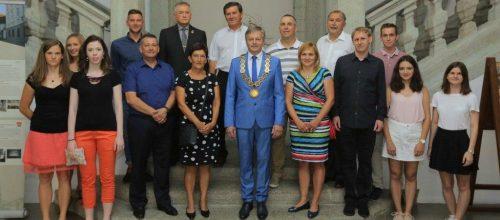 Glavi trener kluba, Master Željko Gvozdić, VII. DAN, prejel plaketo Občine Radovljica