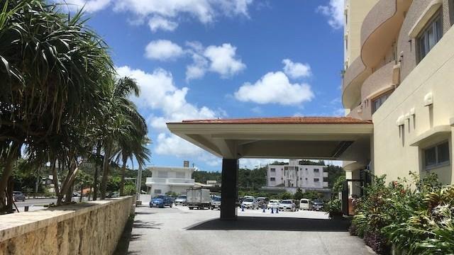 沖縄で泊まったホテル「かねひで喜瀬ビーチパレス」