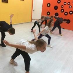 Занятия Хип Хопопм для детей от 7 до 11 лет