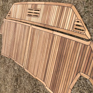 Sea Ray Sundancer 320 Teak Swim Platform Decking Kit