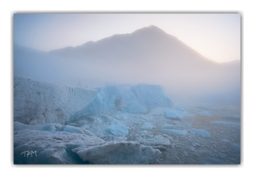 Mist Ice Dawn