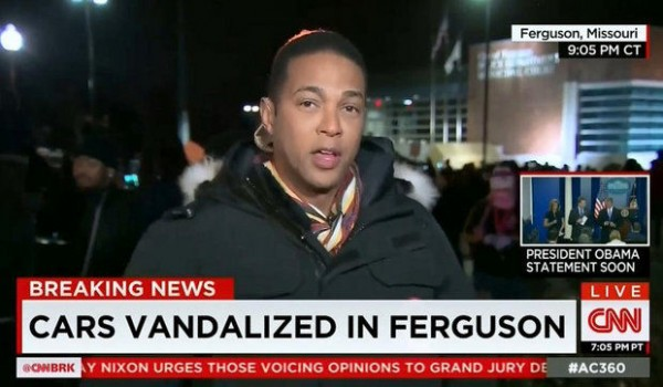 Don Lemon Reports on CNN
