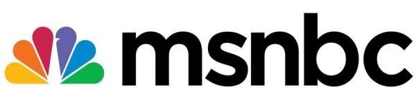 "NBC UNIVERSAL LOGOS -- Pictured: ""MSNBC"" Color Logo -- NBC Universal Photo"