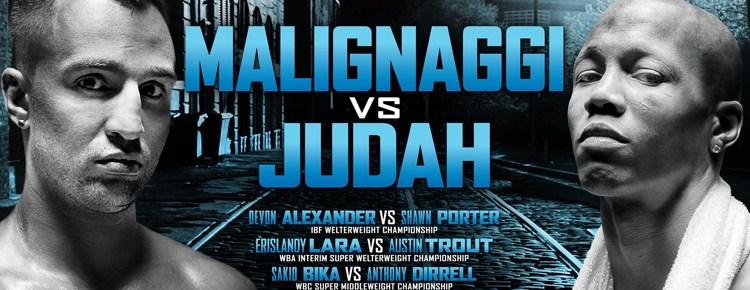 Malignaggi VS Judah
