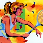 "Illustrations of ""Tennis, Tennis player, Tennis racket, Tennis wear"""