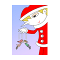 "Illustrations of ""Santa Claus, Christmas, Puppet, Marionet"""