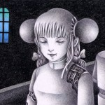 "Illustrations of ""Android, Scrap, Repair plant, Girl, Humanoid"""