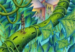 SF,Science fiction,Science fantasy,Imagination,Fantasy,Fantasy science,Pencil drawing,Colored pencil drawing,Analog illustration,Illustration,Art,Painting,Hand drawn illustrations,Robot,Plant,Android,Artificial intelligence,Jungle,Huge plant,Leaf,Vine,Stem,Wood,Abandonment,City,Future,End of the world,Future world