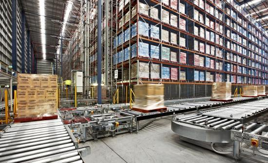 Warehouse-storage-process-control