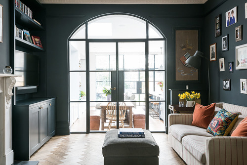 Troughton Residential featured on Houzz for their use of crittall-style doors