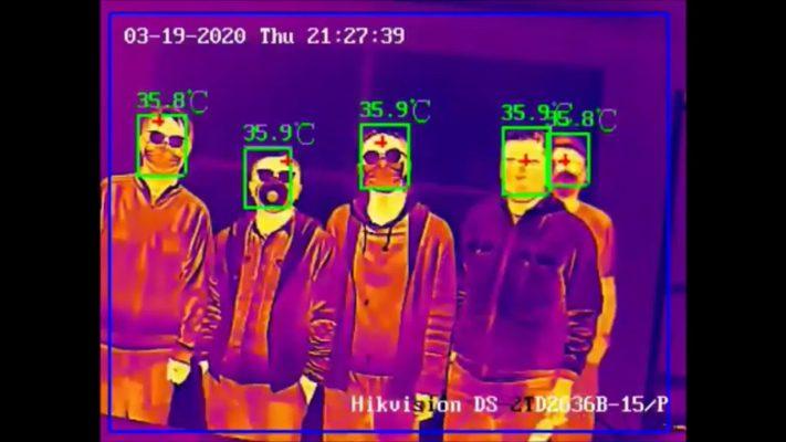 Đo thân nhiệt Camera thân nhiệt HIKVision DS-2TD2636B-13/P