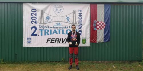 Prvenstvo Hrvatske u sprint i standardnom akvatlonu Osijek 2020