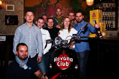 HAVANA CLUB TROPHY 2013: Ceny pre víťaza prišli vutorok 10. decembra priamo do podniku Casa Del Havana odovzdať zástupcovia spoločnosti Jan Becher Slovensko.