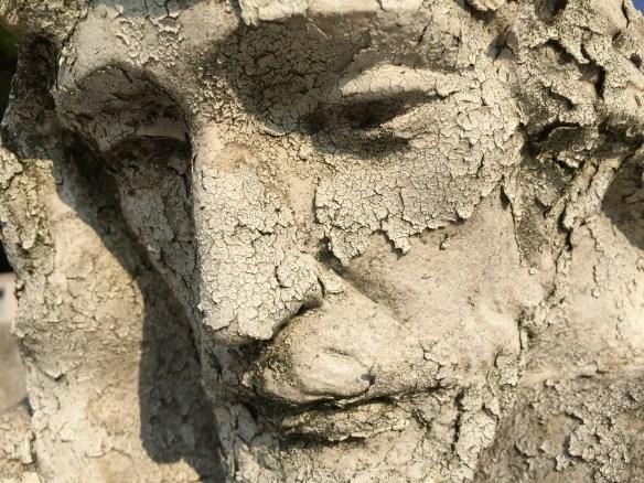 Detalle del Cristo de la Laguna del Panteón Viejo de Zacapu, Michoacán. FOTO: José FUENTES-SALINAS.
