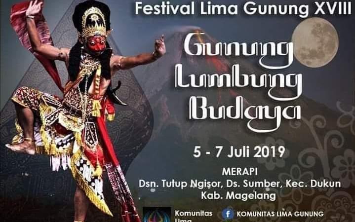Agenda Festival Lima Gunung XVIII 2019 di Tutup Ngisor – Sumber