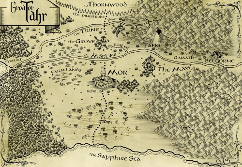 Omens of Fury, Sean Hinn, Greater Tahr, Tahr Map