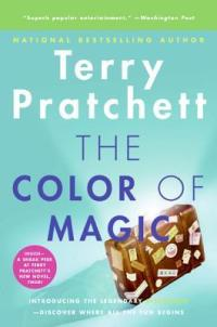Discworld, The Color of Magic, Terry Pratchett, Epic Fantasy Books