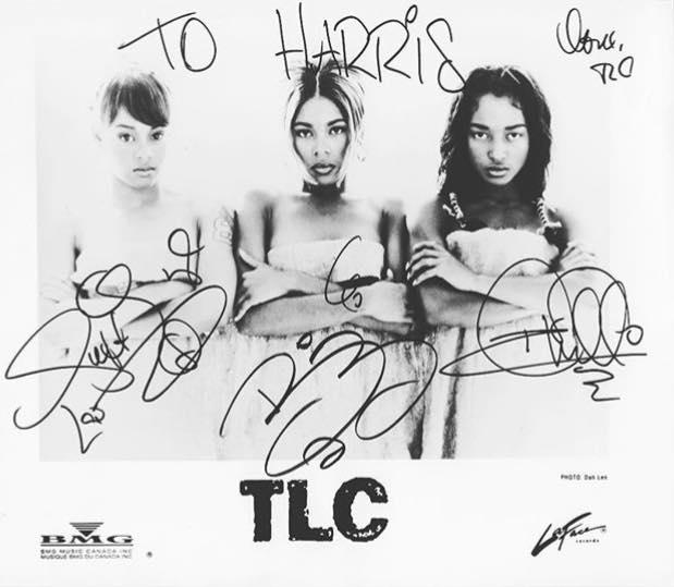 harris signed image