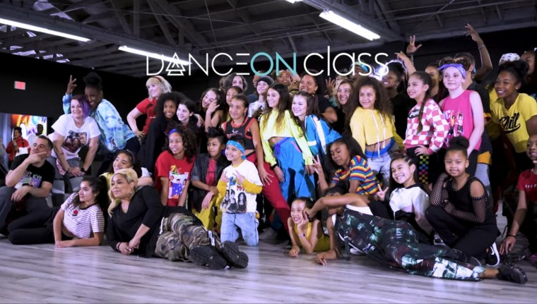 TLC DanceOn class - TLC-Army.com