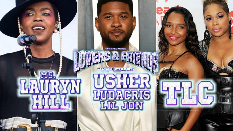 Tlc usher Lauryn hill lovers and friends TLC-Army.com