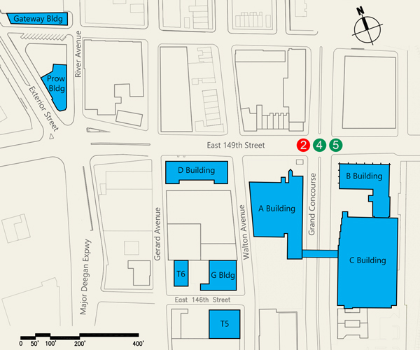 Hostos Campus Map.Hostos Community College The Teaching And Learning Center