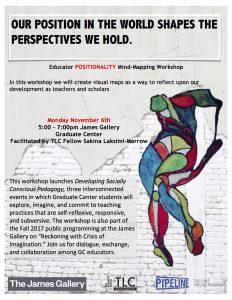 Positionality Workshop Flyer