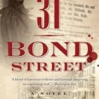 [TLC Blog Tour&Review] 31 Bond Street by Ellen Horan