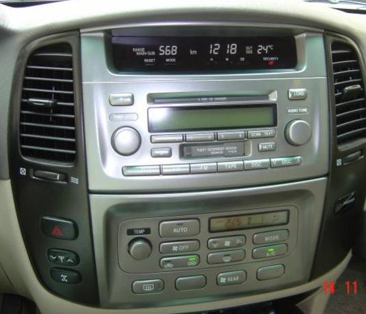 stereo wiring land cruiser 200307  tlc faq