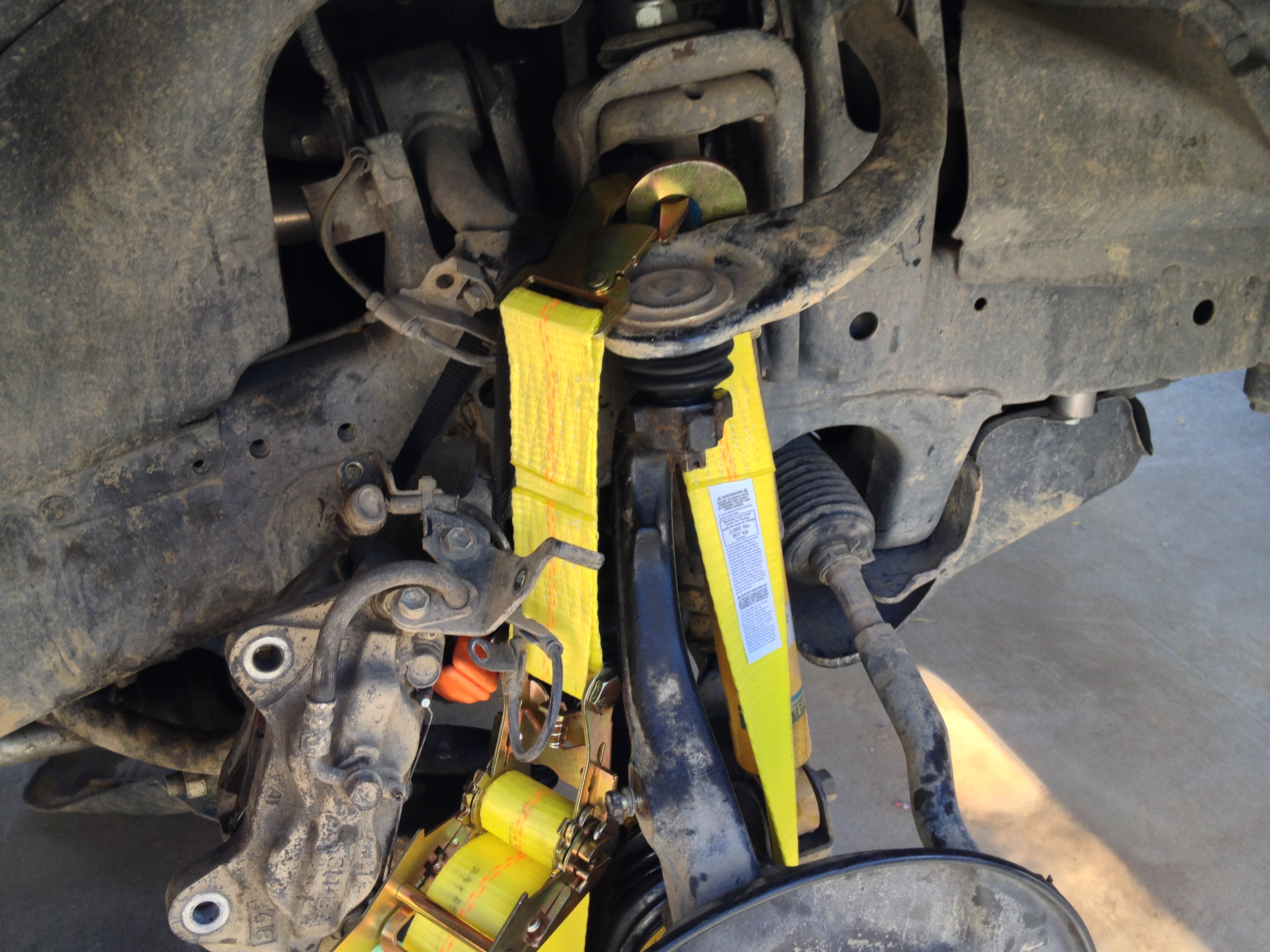 Front Axle (CV) Assembly Replacement - TLC FAQ